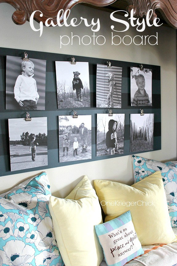 Striped-Gallery-Photo-board-with-reversible-photos-Awesome-idea