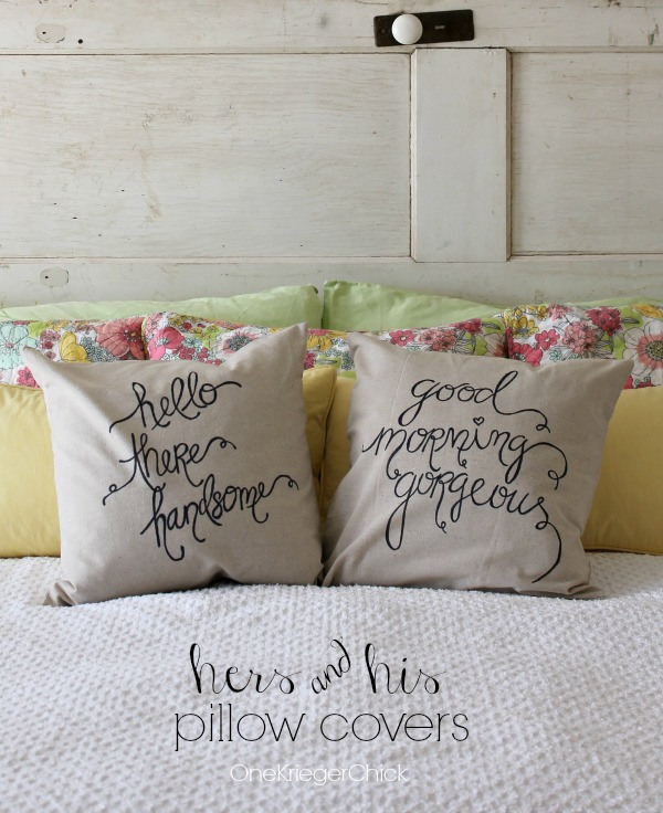 hers-and-his-pillow-covers-made-with-a-Sharpie