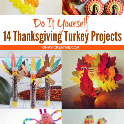 14 Thanksgiving Turkey Projects