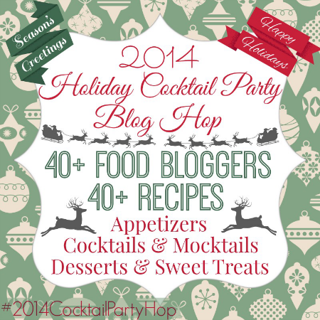 2014 Holiday Cocktail Party Blog Hop |  OHMY-CREATIVE.COM