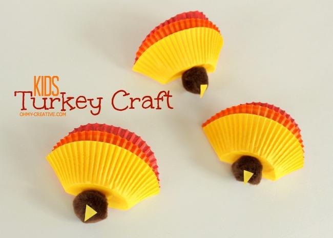Kids-Thanksgiving-Turkey-Craft-|-OhMy-Creative.com