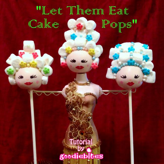 Marie Antoinette Cake Pops