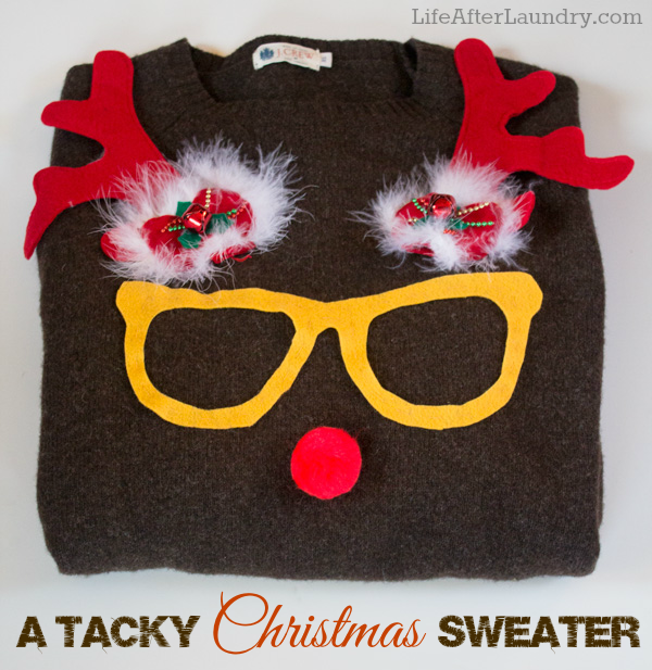 Rudolph A Tacky Christmas Sweater