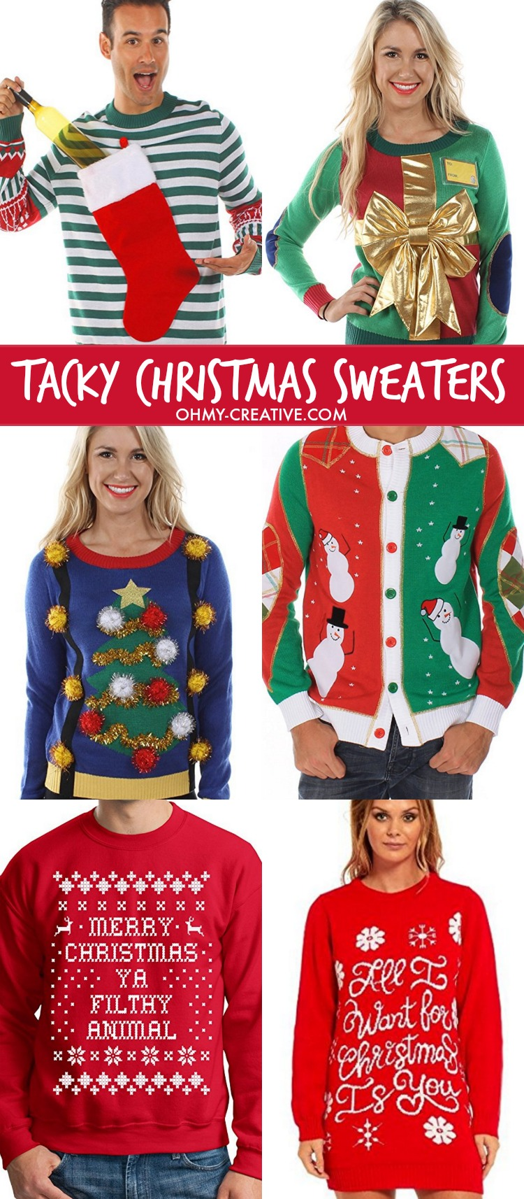 Where to shop for ugly christmas sweaters