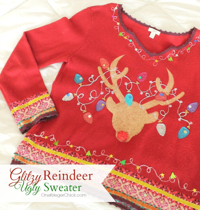 12 Days of Christmas, Day 8: Make Your Own Ugly Christmas Sweater