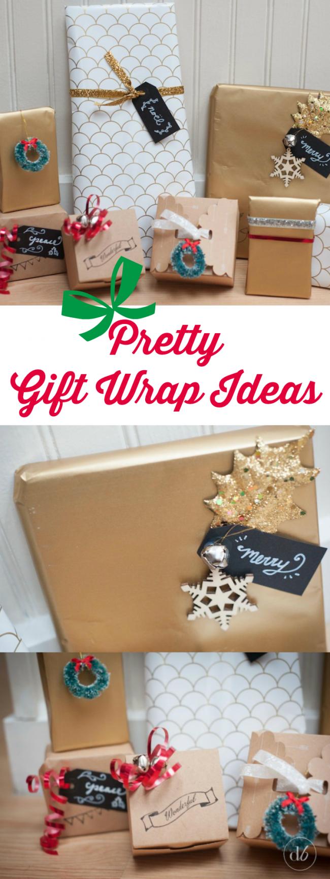 Pretty Gift Wrap Ideas