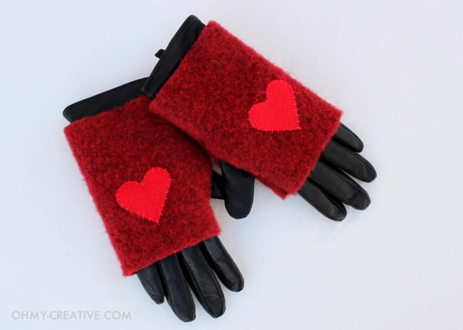 gloves in snow