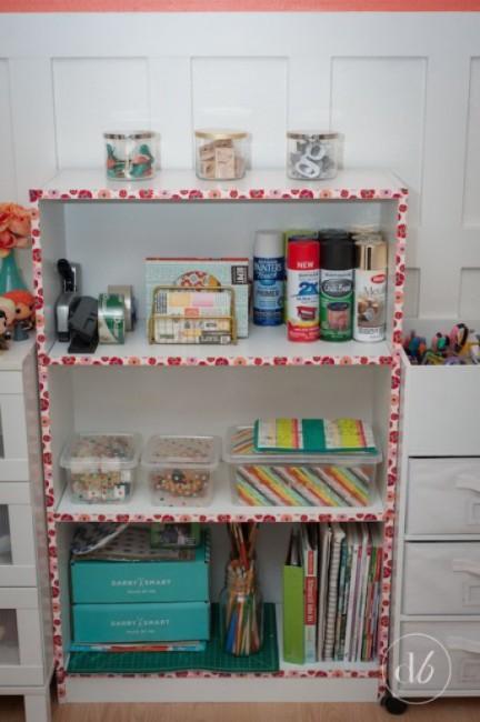 bookcase organization