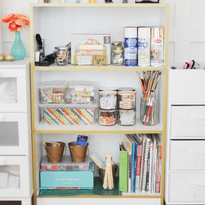 Washi Tape Bookcase