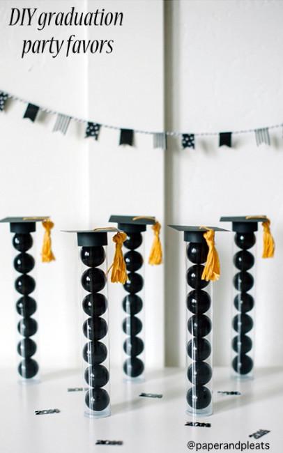 DIY graduation party favors NoBiggie