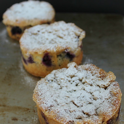 Mini Blueberry Coffee Cakes The Crafting Foodie for OHMY-CREATIVE.COM
