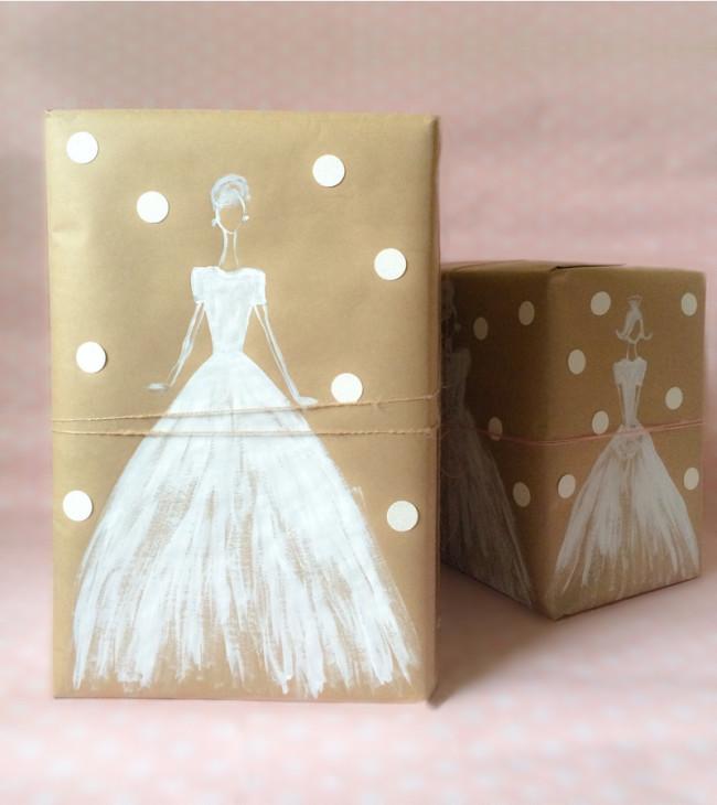 wedding wrap gift idea