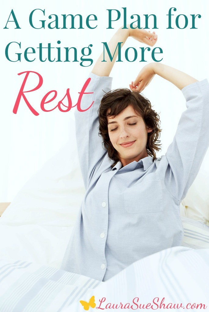A Game Plan for Getting More Rest