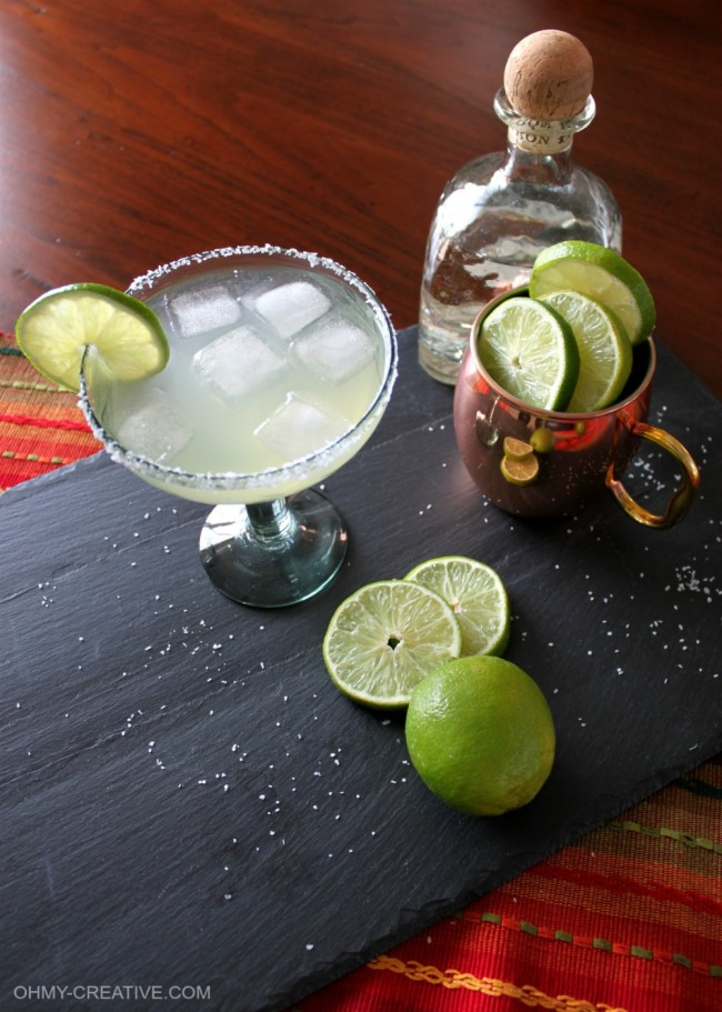 This Moscow Mule Margarita is a great twist to the very popular Moscow Mule! Made with tequila and fresh ingredients this drink is amazingly tasty…I love it! OHMY-CREATIVE.COM