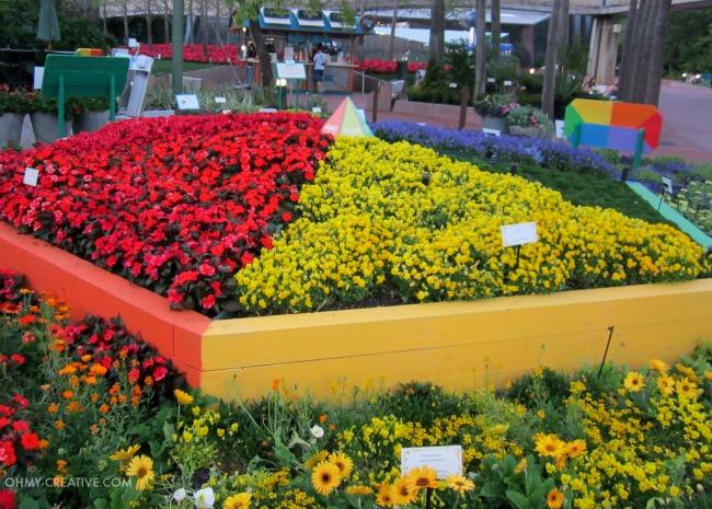 Flower Color Palette Epcot International Flower and Garden Festival  |  OHMY-CREATIVE.COM