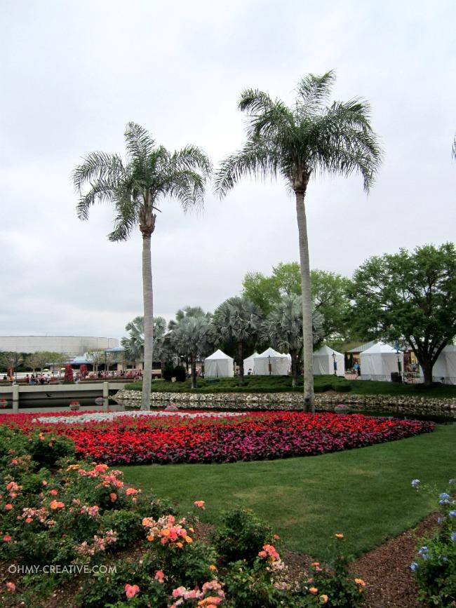 Flower Garden Epcot International Flower and Garden Festival  |  OHMY-CREATIVE.COM
