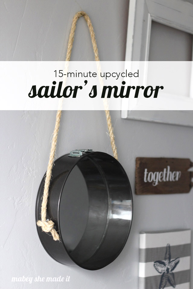 DIY Sailors Mirror