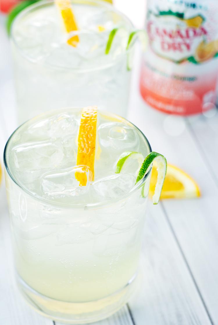 Orange Gin Buck Cocktail