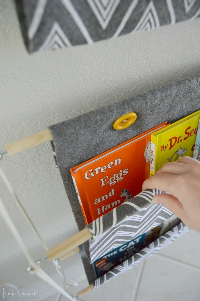 Diy Hanging Book Holder Oh My Creative