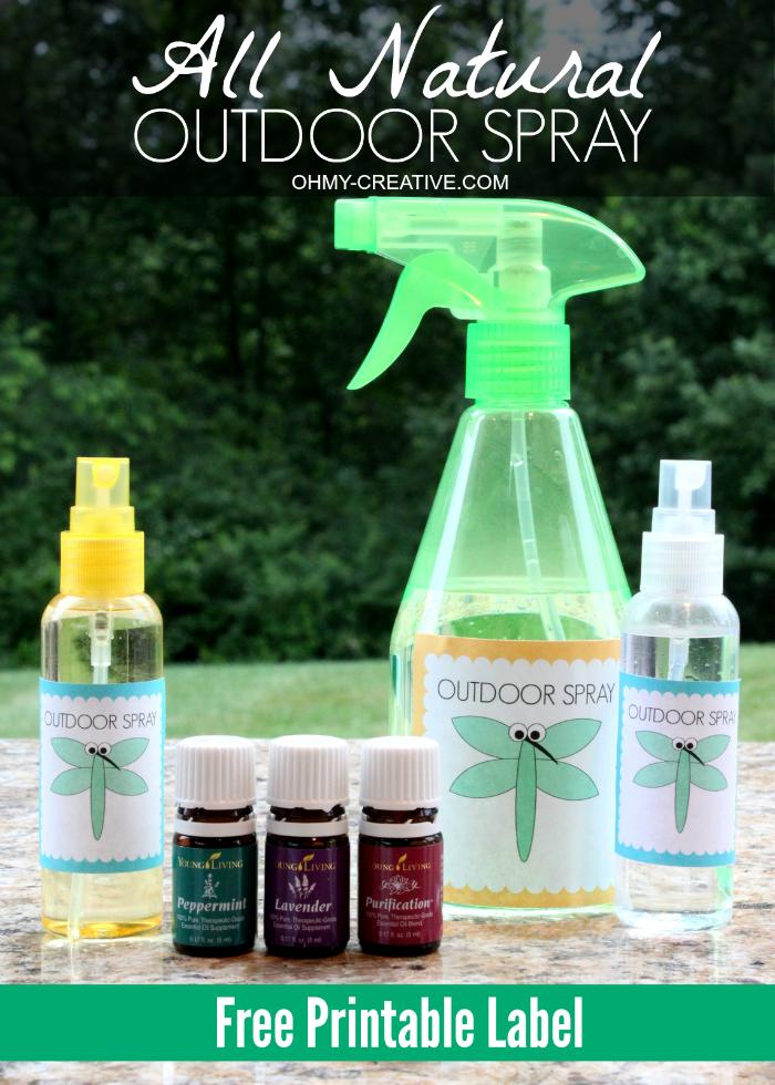 All Natural Outdoor Spray