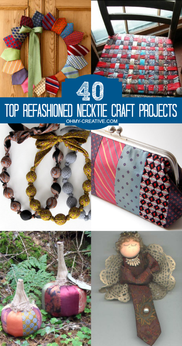 40 Best Christmas Nail Designs Ideas: 40 Top Refashioned Necktie Craft Projects