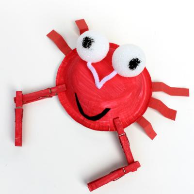 Crab Kids Craft