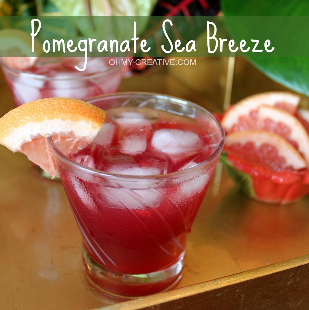 Pomegranate Sea Breeze