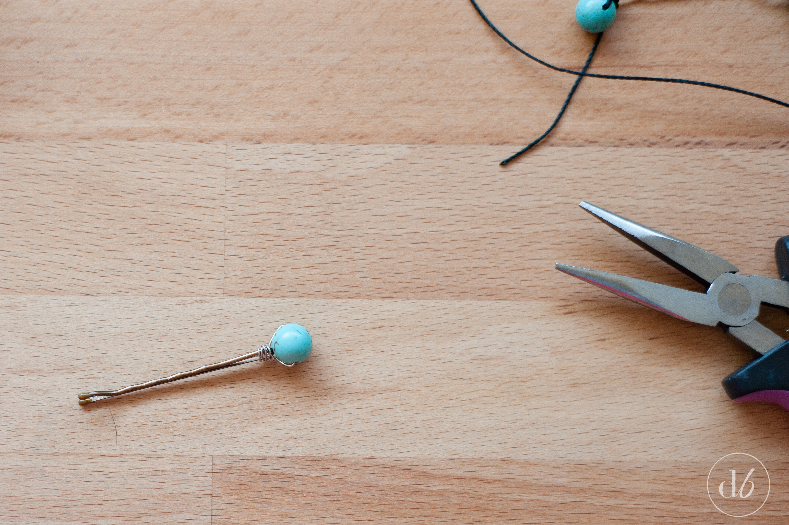 DIY Beaded Bobby Pins - Oh My Creative