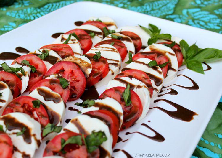 Caprese Salad Recipe Oh My Creative