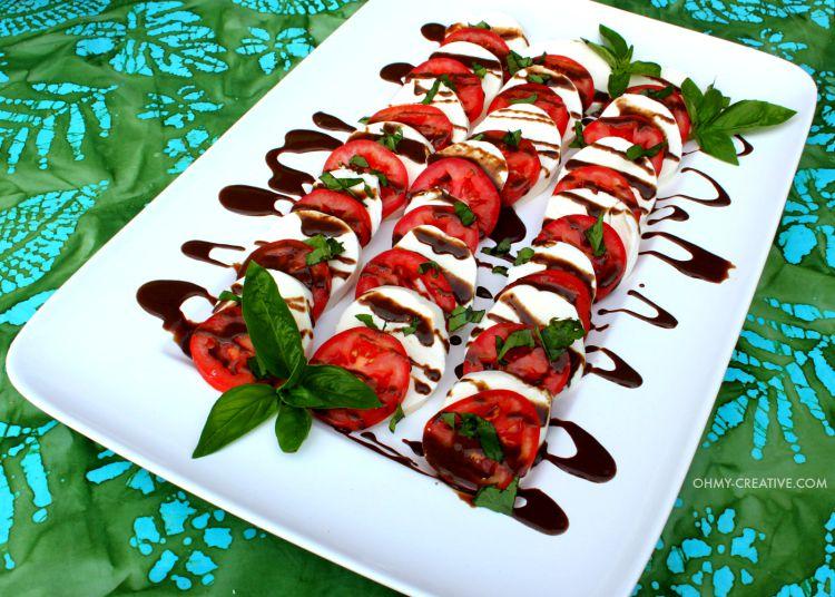 recipe: basil dressing for caprese salad [16]