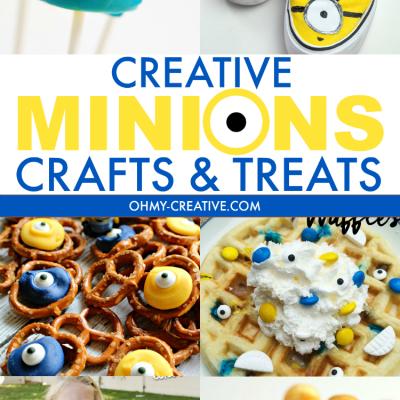Creative Minions Crafts and Treats