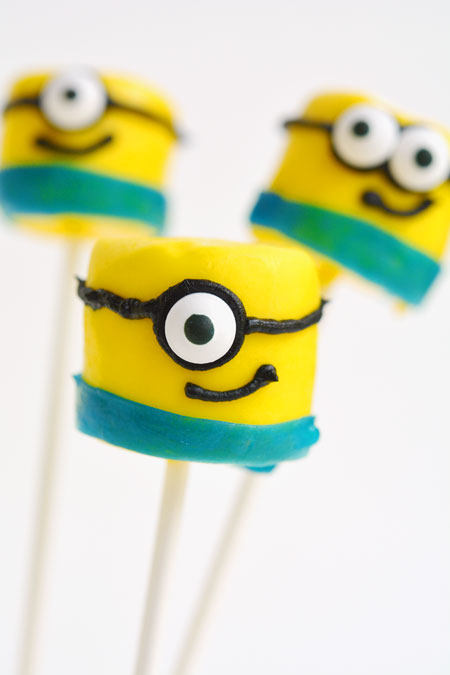 how to make minion cake pops