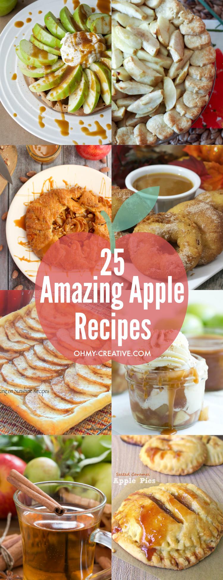 25 Amazing Apple Recipes