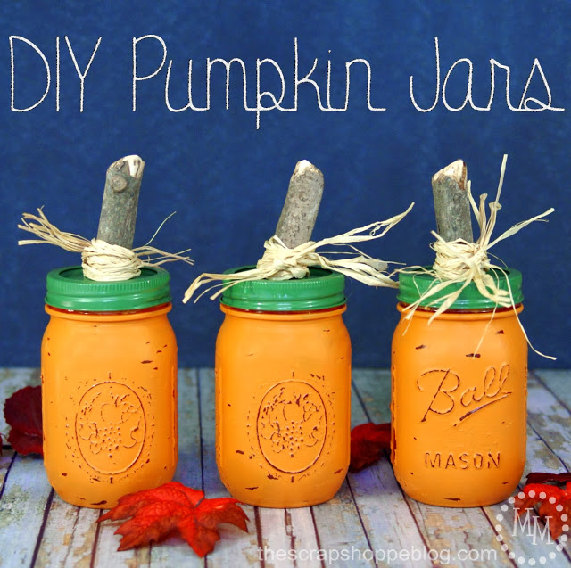 High style low budget fall decorating ideas for Diy fall mason jars