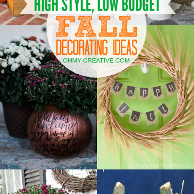 High Style, Low Budget Fall Decorating Ideas