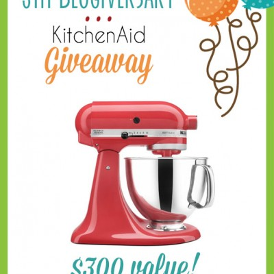 KitchenAid Giveaway – a $300 value