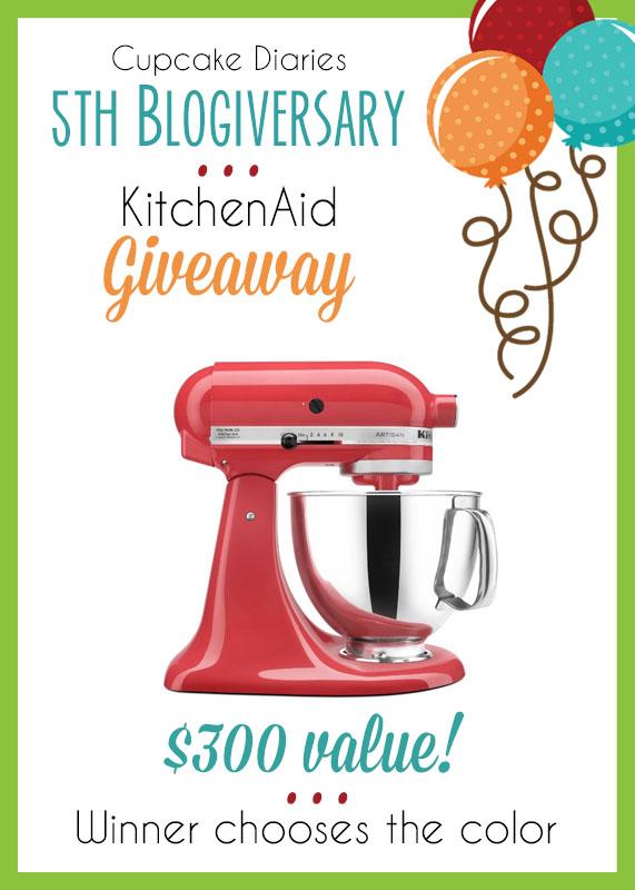 KitchenAid Giveaway – a $300 value