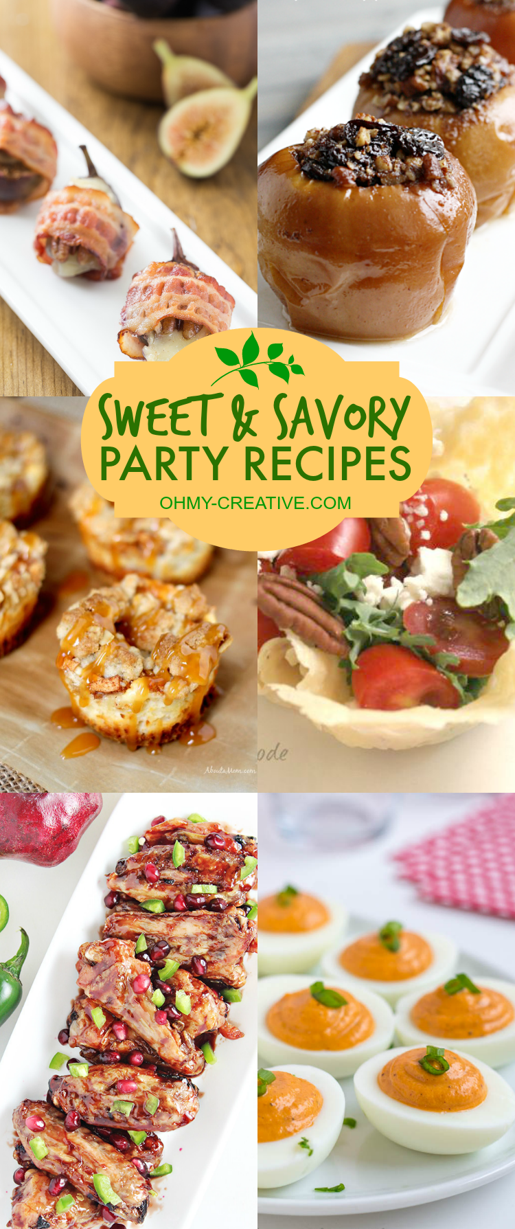 Sweet And Savory Party Recipes