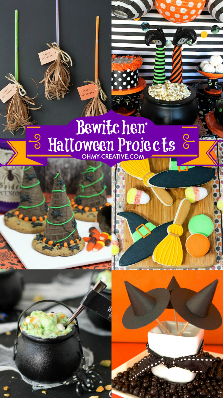 Creative Halloween Makeup Ideas A Subtle Revelry: Witch Halloween Projects