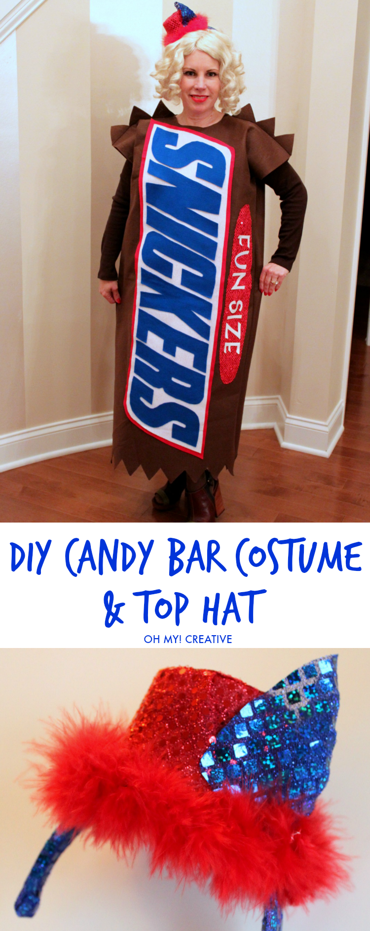 DIY Candy Bar Halloween Costumes Oh My Creative