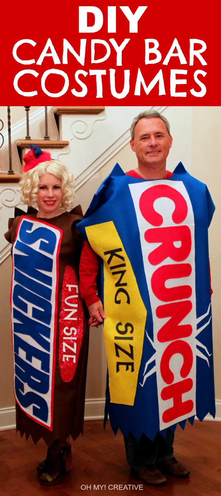 Candy Bar Costumes by Oh My! Creative
