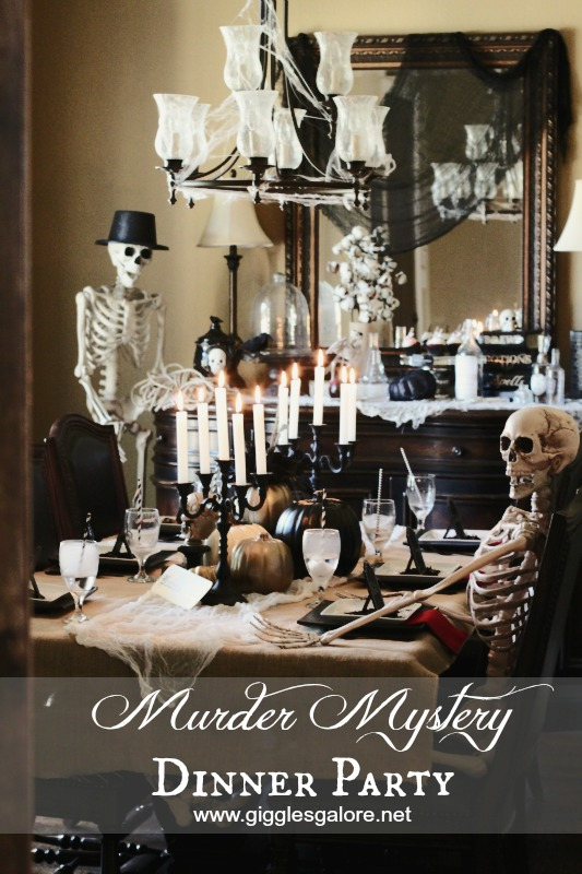 Delightful Mystery Dinner Party Ideas Part - 4: Adult Halloween Party Ideas