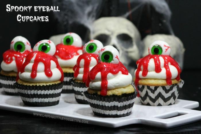 Spooky Eyeball Cupcakes