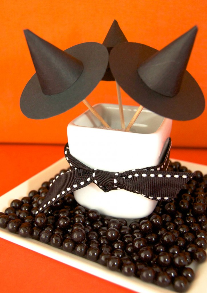 Witch Hat Cupcake Toppers