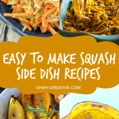 Easy to make Squash Side Dish Recipes