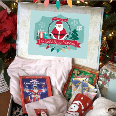 Christmas and Christmas Eve Box Printables