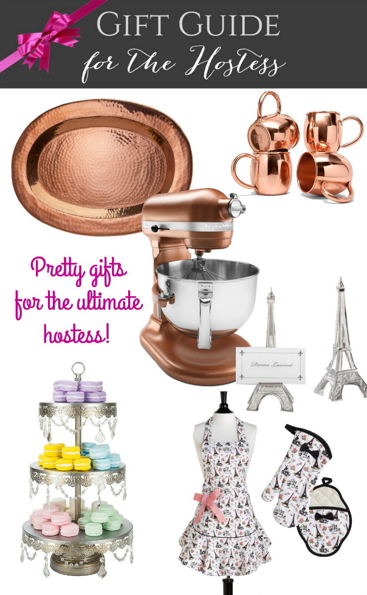 Buying Christmas gifts can be a real challenge. Find Pretty Gifts for the Ultimate Hostess here along with 67 other gift guides with over $4,000 in giveaway prizes! It's not to be missed! | OHMY-CREATIVE.COM
