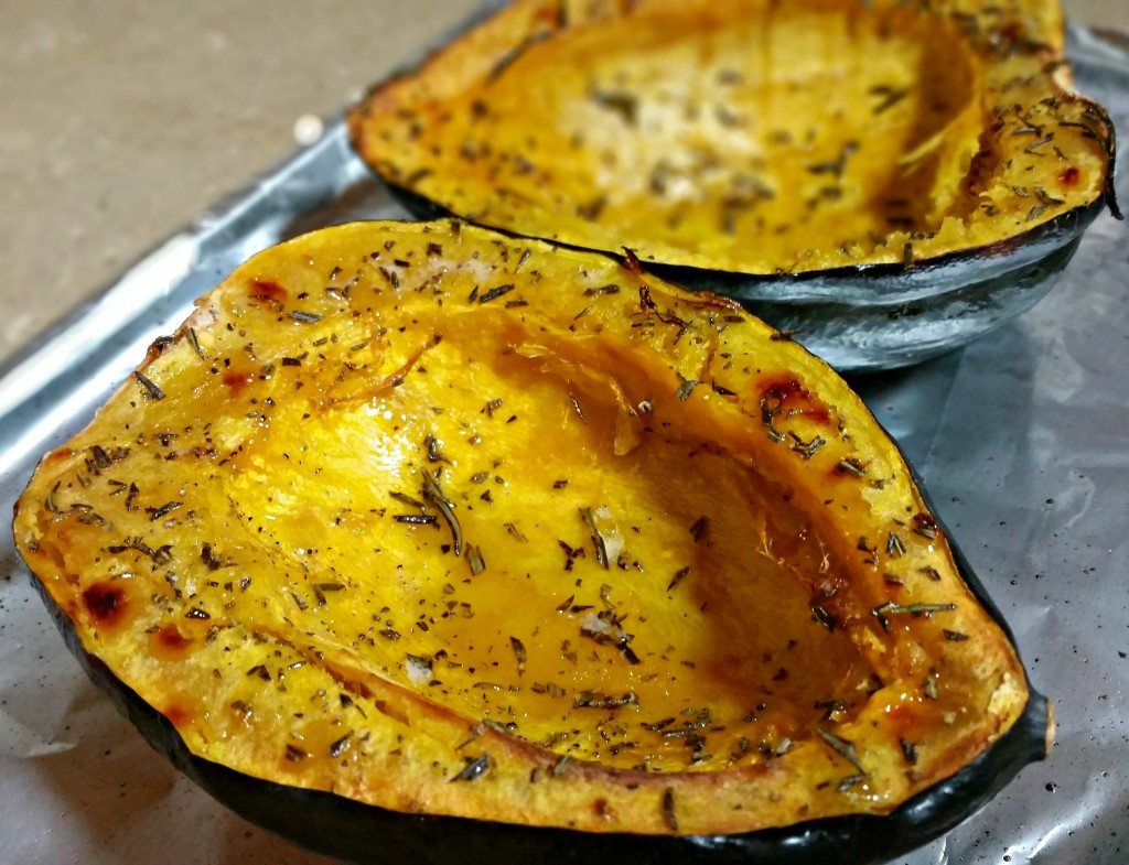 Rosemary Roasted Acorn Squash | Simple Recipe Club
