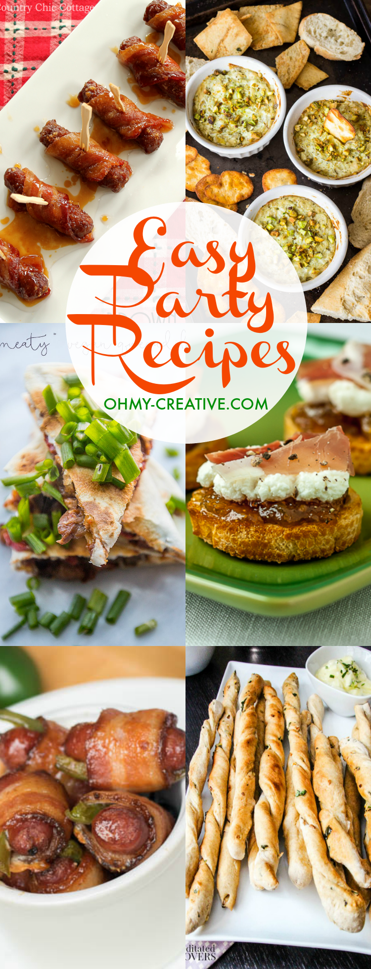 Easy Holiday Party Recipes