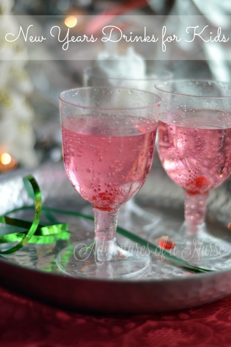 Kids New Year's Eve Drink